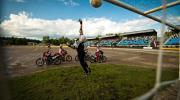 Pēc 30 gadu pārtraukuma motobola spēli apmeklē teju 1000 skatītāju