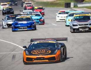 Autošosejas sezonas atklašanā Biķernieku trasē uz starta gaidāmi trīs Lamborghini