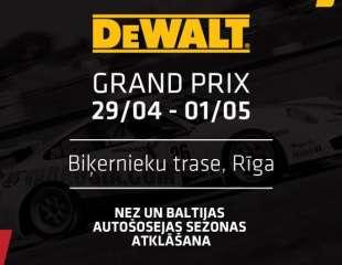 Autošosejas sacensības DeWalt GP 2017 29/04 - 1/05